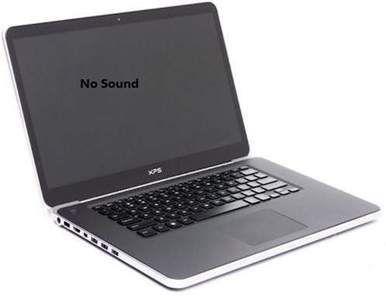 Corrigir problema de ausência de som no laptop