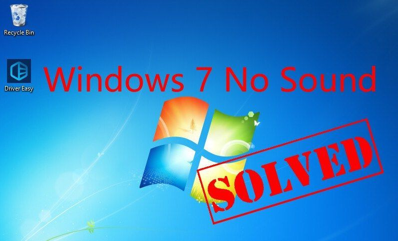 Windows 7 skaņa nedarbojas (atrisināta)
