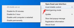 Πώς να απενεργοποιήσετε προσωρινά το Avast Antivirus
