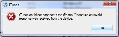 (Rešeno) iTunes se ni mogel povezati z iPhoneom, ker je naprava prejela neveljaven odgovor
