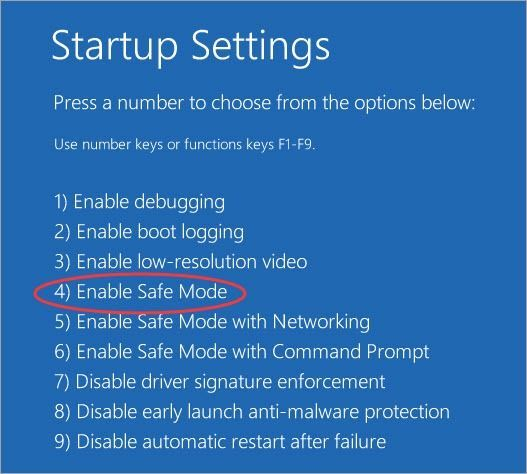 Darbības ar Windows 10 sāknēšanu drošajā režīmā (ar attēliem)
