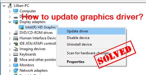 (Atrisināts) | Kā atjaunināt grafikas draiveri sistēmā Windows Viegli