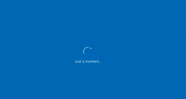 Instalación de Windows 10 atascada en solo un momento Bucle (fijo)