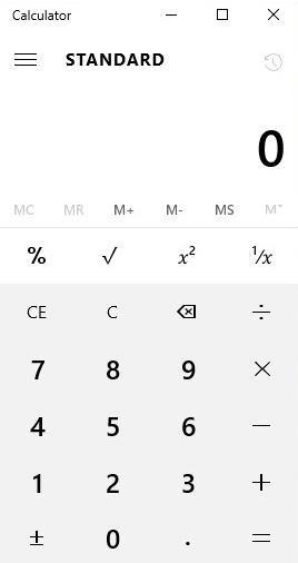 Calculadora do Windows 10 não funciona (resolvido)