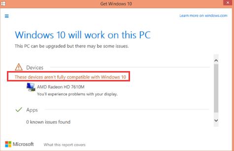 (Rešeno) Zaslon ni združljiv z operacijskim sistemom Windows 10