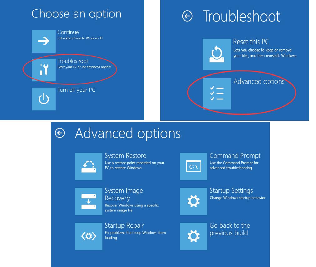 Kā piekļūt sāknēšanas opciju izvēlnei operētājsistēmā Windows 10 (atrisināts)