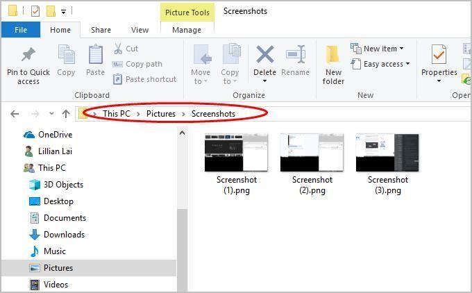 Ekrānuzņēmums uz Toshiba klēpjdatora - ātri un viegli