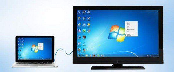 Passo a passo Como conectar o laptop à TV (com fotos)