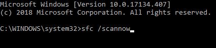 SFC / SCANNOW: विंडोज सिस्टम फाइल्स को रिपेयर करें