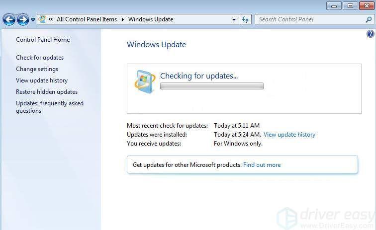 Windows atjauninājums nedarbojas, iestrēdzis, meklējot atjauninājumus (atrisināts)